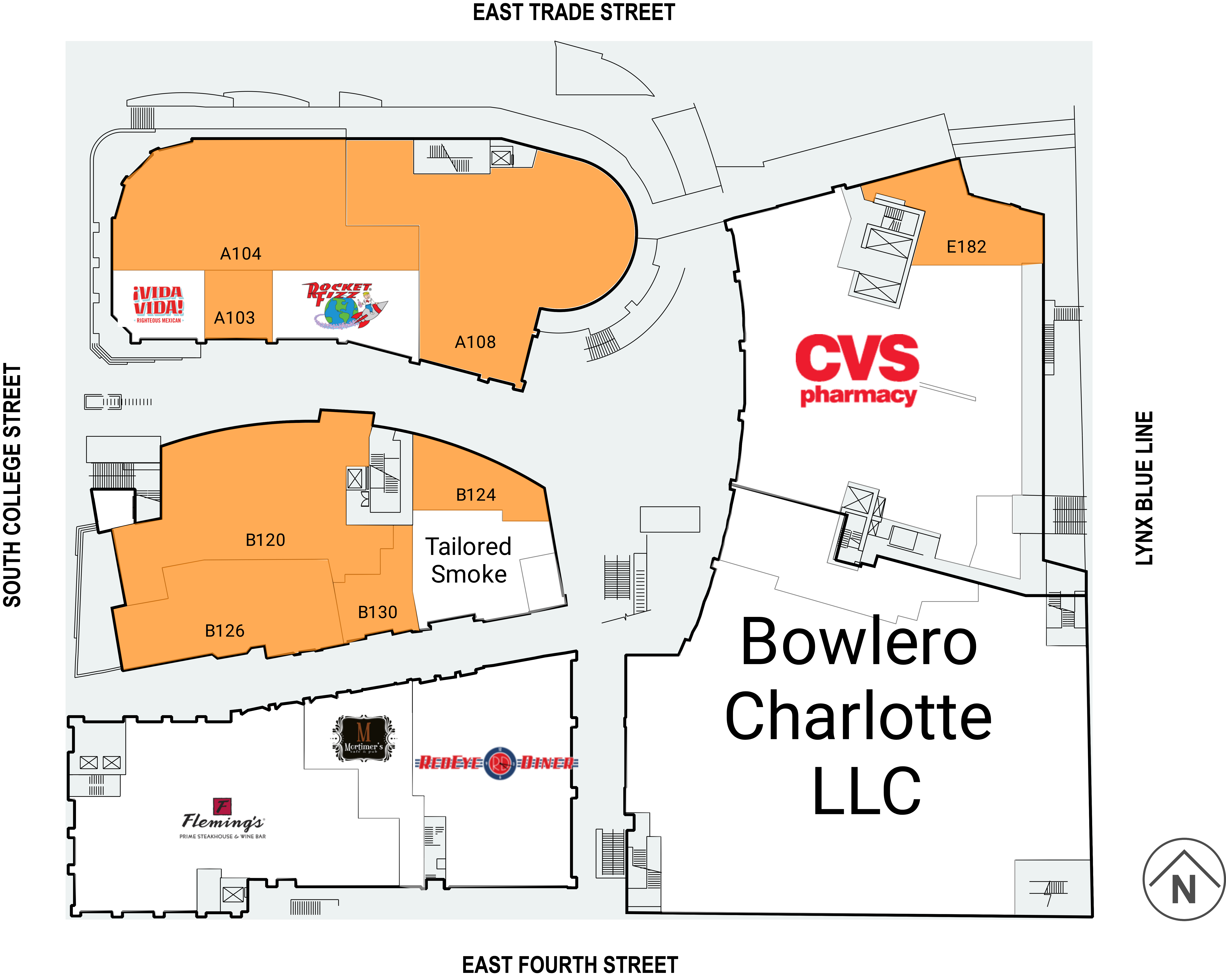 Charlotte NC: Epicentre - Retail Space For Lease - CIM Group on
