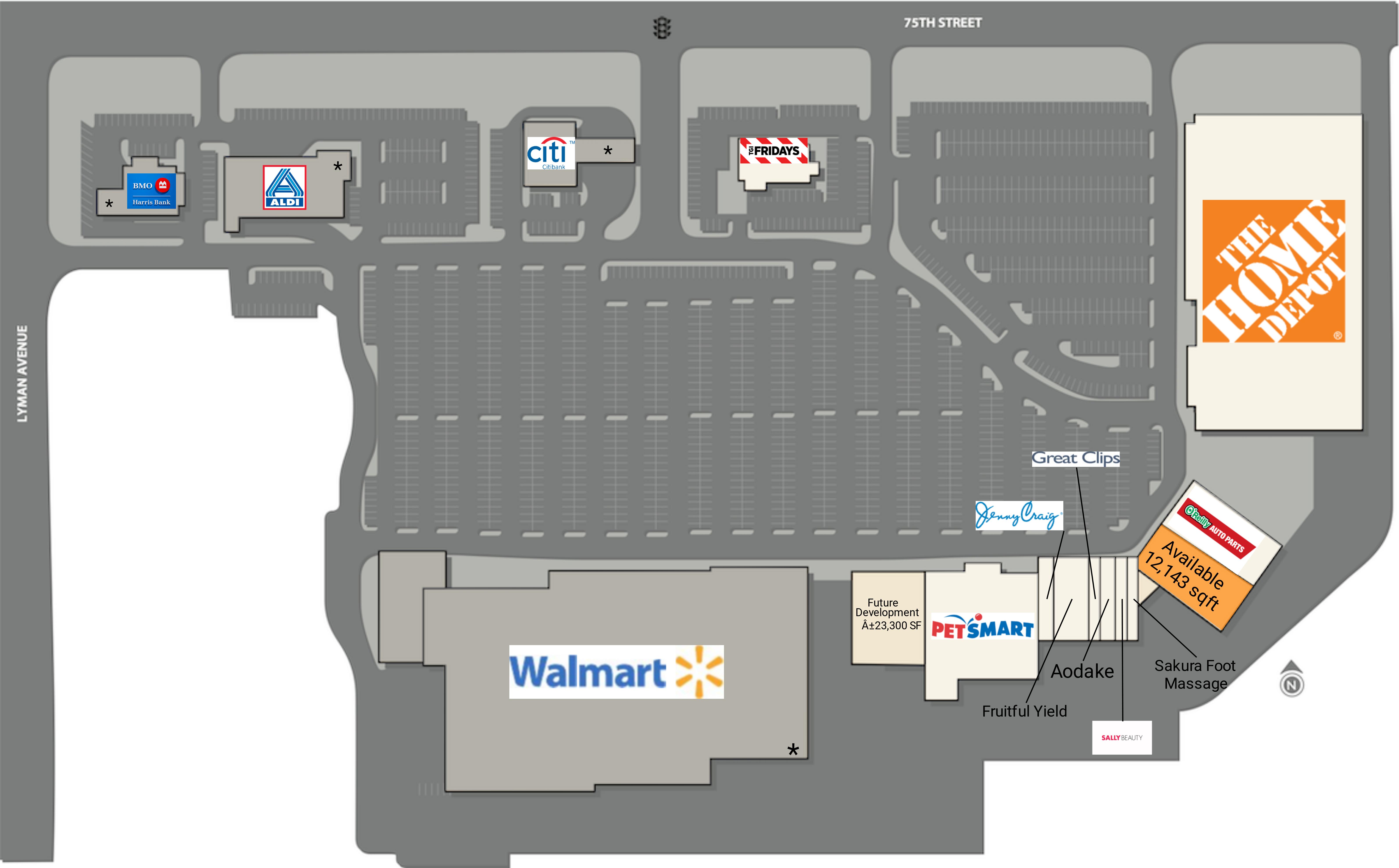 Darien IL: Darien Towne Centre - Retail Space - CIM Group